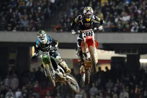 Trey Canard had a great race in Atlanta. Ryan Villopoto on the other hand, did not.