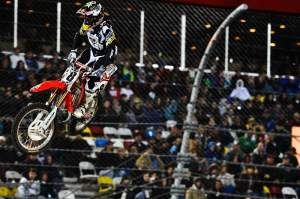 In his third-ever 450cc race, Trey Canard got his second-ever podium.