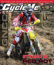 Josh Strang on the cover of the new CN.