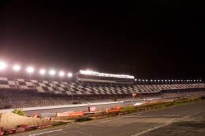 Daytona looks good under the lights.