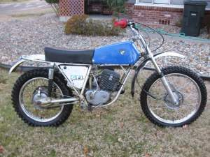 Here is Rob's 1972 Puch MX125. Click through this gallery to seem more photos of his collection.