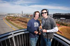 DMXS Radio's Kevin Kelly and David Izer did a fantastic job calling the action in Daytona.