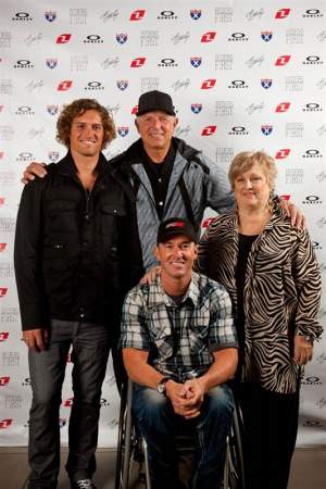 The Baileys at the Rider F1rst unveiling.