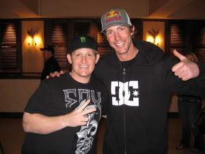 Between the two of these guys, they have sixteen major motocross titles!
