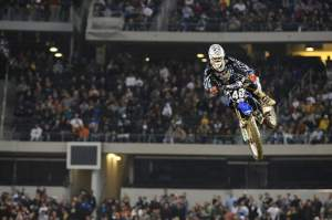 MotoConcepts Yamaha's Ryan Sipes came thisclose to winning his first pro race.