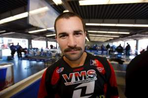 Though he's bruised and battered, Valli Motorsports' Ivan Tedesco is a go for Toronto.