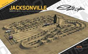 The Jacksonville track.