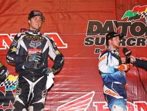 The Ryans finished 1-2 at Daytona.
