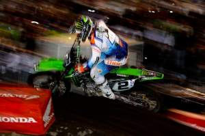Ryan Villopoto won his fourth race of the year at Daytona.