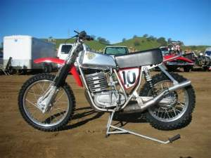 This is Dave Coupe's Maico, 1974-1975