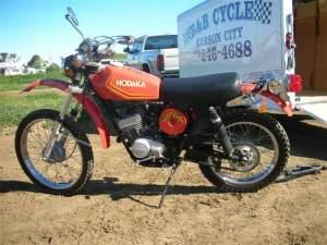1972 Hodaka 125