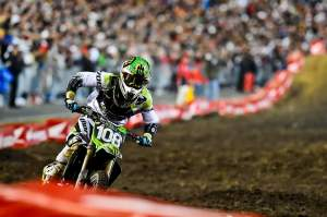 Dean Wilson had to pass his old amateur rival Blake Baggett to grab his first podium of the season, and of his career.