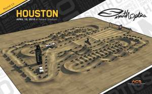 The Houston track.