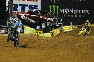 Chad Reed held off Dungey for fourth, adding two extra points to his teammate Villopoto's points haul.