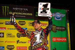 Ryan Dungey is now a world supercross champion.