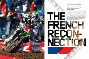 His talent, skill, and heritage call to mind a young Jean-Michel Bayle. With his transition to the premier class approaching, we get to know Christophe Pourcel. Page 134.