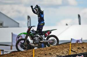 Chad Reed took the first moto victory and the overall at Hangtown.