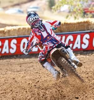 Honda Red Bull Racing's Ashley Fiolek.