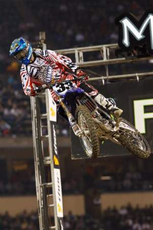 Josh Grant hasn't raced for real in 2010 after getting injured right before Anaheim 1.