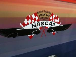 The original NASCAR logo.