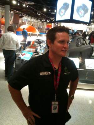Here's Ricky Carmichael at the NASCAR Hall of Fame opening, along with some photos of what's inside their incredible new museum.