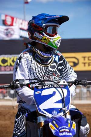 JP$ went 1-1 aboard her new DNA Shred Stix/Star Yamaha.