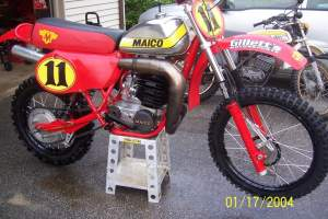 Click through this gallery to see more pics of Kris' Maico.