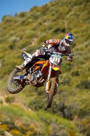 Jeff Herlings at Glen Helen.