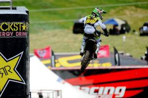 Dean Wilson finished a strong third overall.