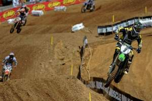 After a horrible weekend at High Point, Chad Reed grabbed a 4-2 at Budds Creek for third overall.