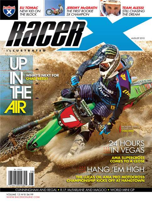 The August 2010 Issue - Racer X Illustrated Motocross Magazine