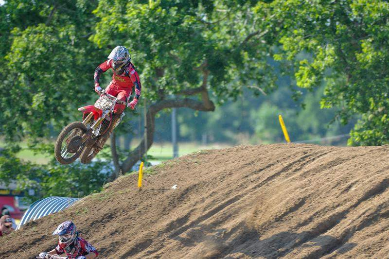 Trey Canard was second fastest overall, but fastest in the second and final qualifying session.