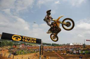 Ryan Dungey went 1-1 again.