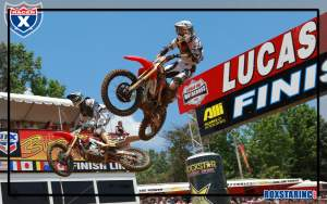Justin Barcia and Eli Tomac