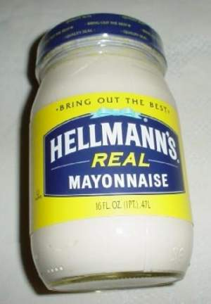 Jar of mayo or Dean Wilson's ass? Too close to call.