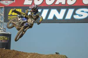Broc Tickle was second in the second moto, passing Wilson at the finish. Tickle was fourth with an 8-2 score.