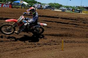 Second place in the second 450cc moto is a privateer best in recent memory.