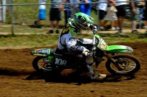 Dean Wilson, in his rookie season, is right in the points hunt.