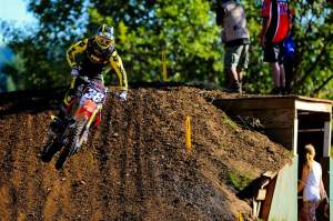 Canard's bike hardly got dirty at Washougal.