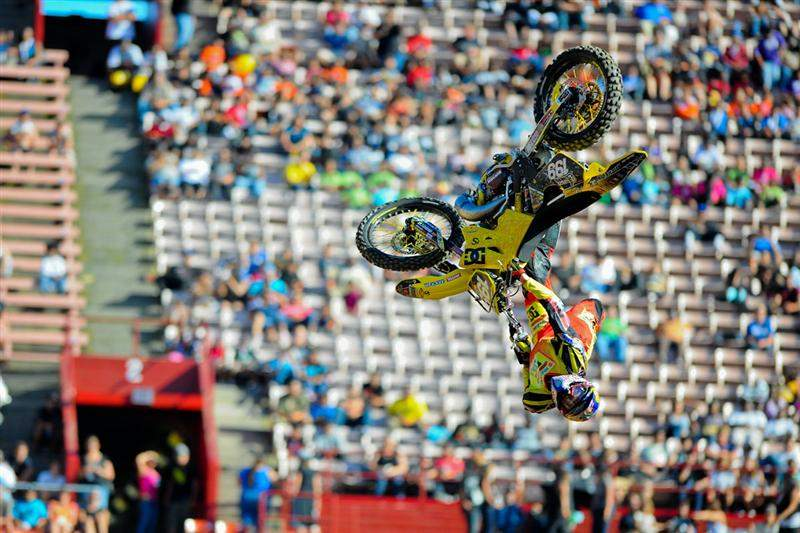 Travis Pastrana returned to X Games Freestyle and dominated yet again.