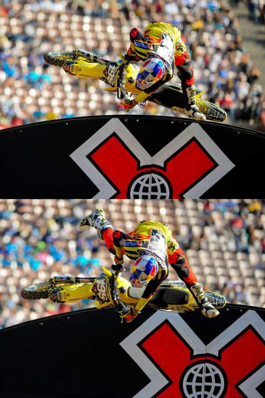 One of Pastrana's advantages was that he was using the wall-rides like no one else.