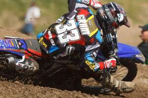 But Josh Grant did in the first moto at Thunder Valley.