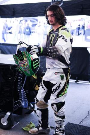 Josh Hansen's flowing locks were featured on the finale of The Hills.