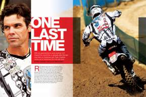 When the Grand Prix series returned to the United States after more than a decade, Ryan Hughes came out of retirement for one more go. Page 156.