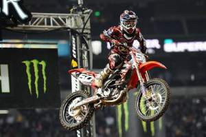 Martin was looking solid in supercross until he suffered a broken wrist in Toronto.