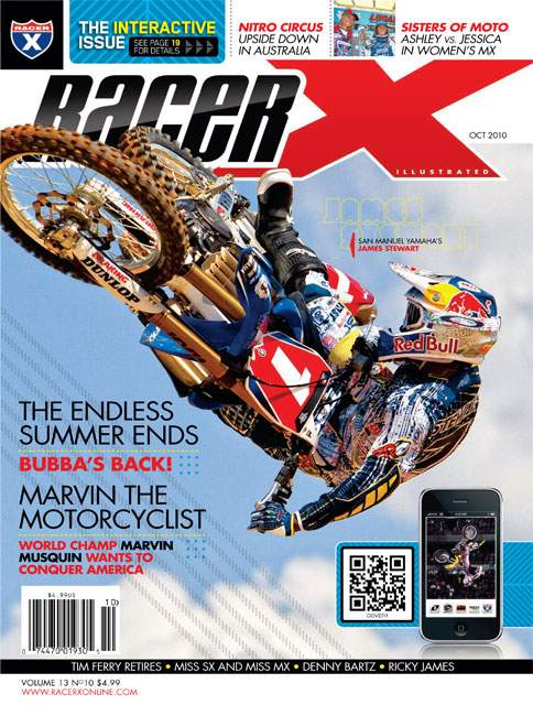The October 2010 Issue - Racer X Illustrated Motocross Magazine
