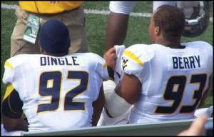 Dingle and Berry ride the pine together, forming one of my favorite words.