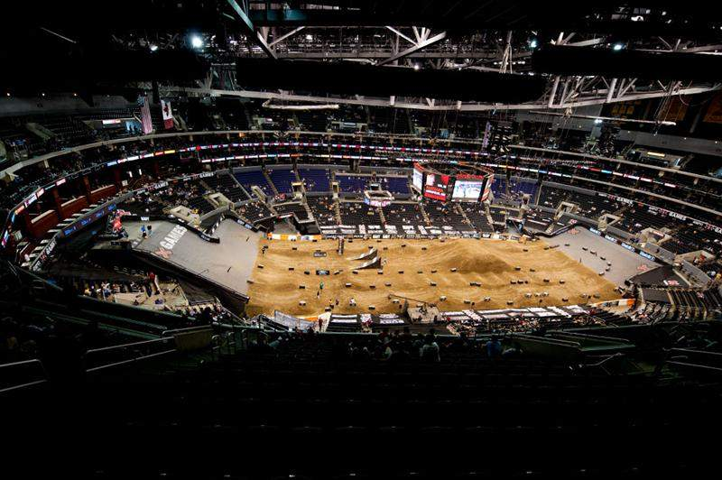 Sunday's floor layout was put together specifically for Speed & Style.