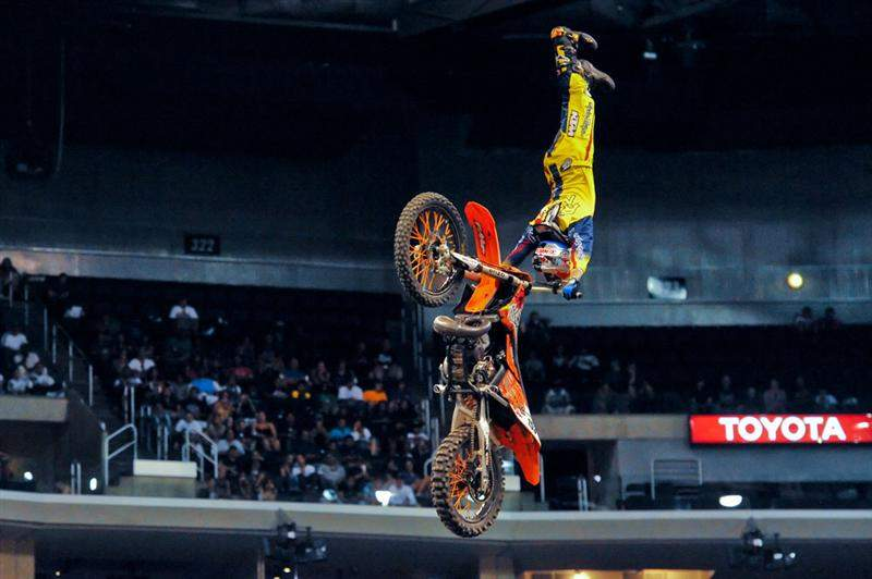 Ronnie Renner didn't make the final field in Speed & Style either, but his tricks were massive - just not flips.