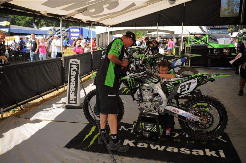 Kawasaki has confirmed they're trying to work out a deal with Billy Mackenzie to race the last two nationals.
